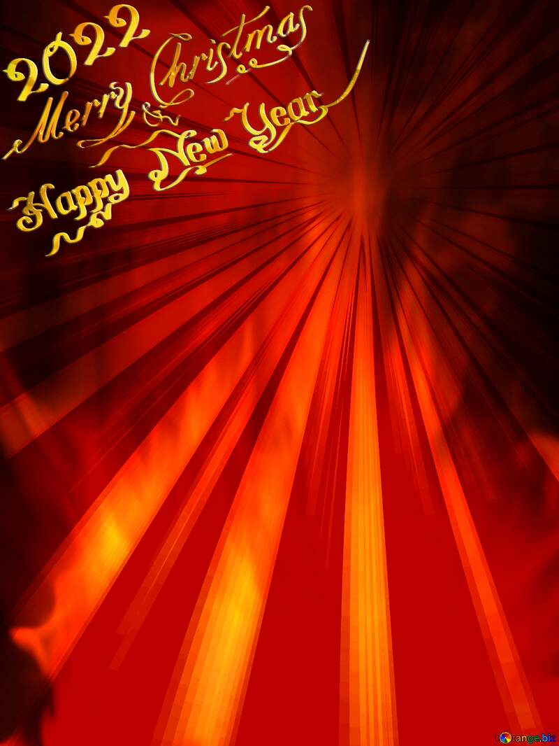 Background. Fire  Wall. Rays sunlight happy new year 2021 №9546
