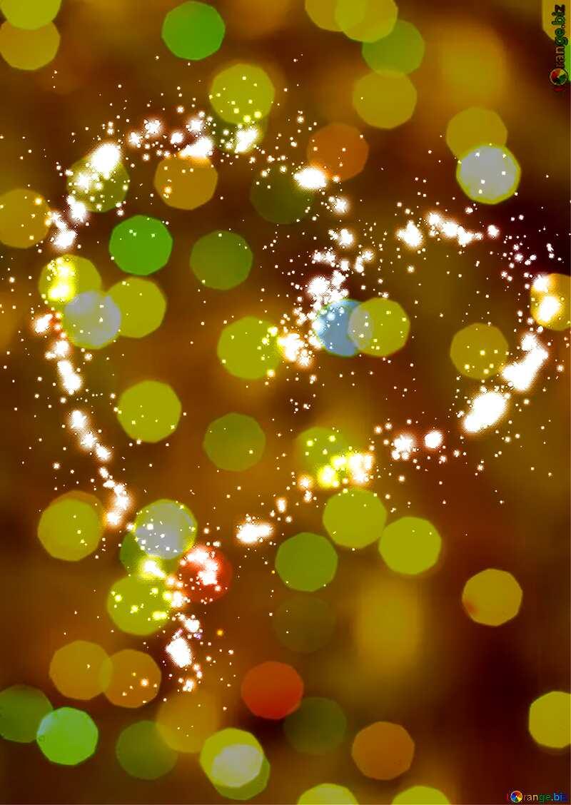 heart stars background №40001
