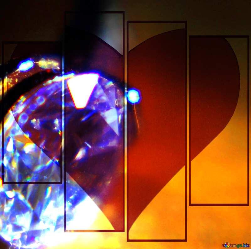 Love diamond №18587