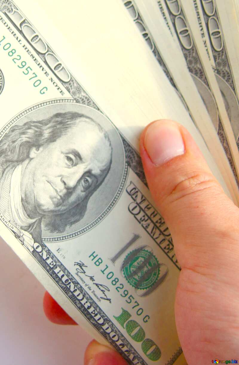 dollars bills on hand №1528