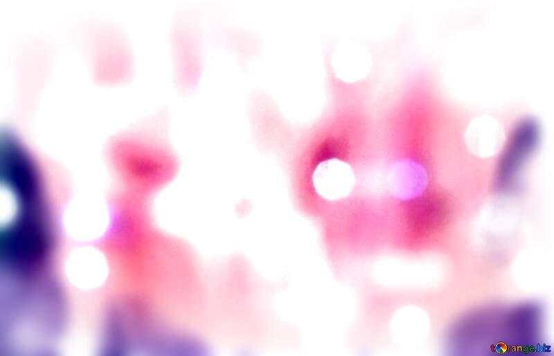 christmas Bright background light blur frame №24606