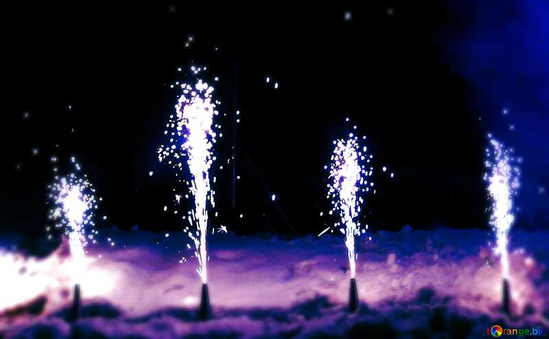 fireworks on ground №41341