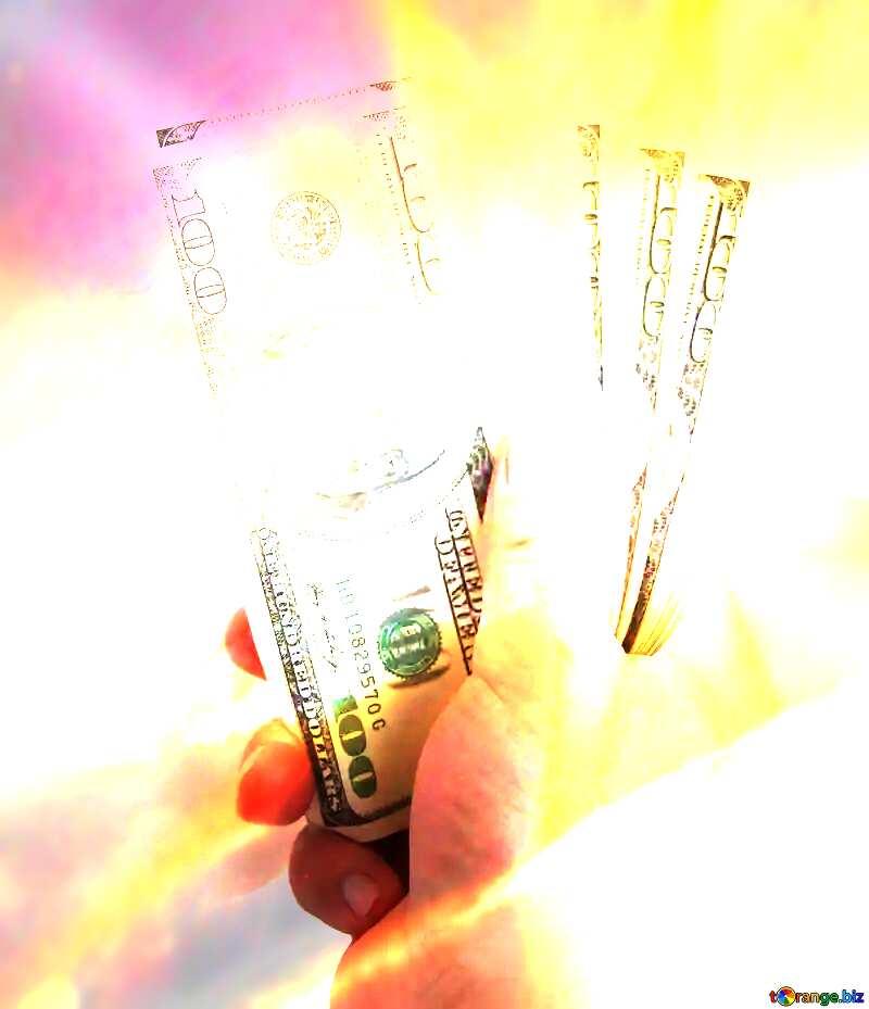 Fan dollar money №1528