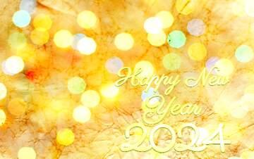 El efecto de la muy luz. Colores muy vivos. Happy New Year 2020.