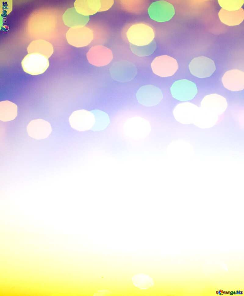 Sunset Gradient bokeh background №16062