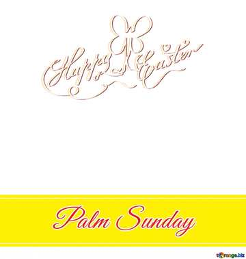 Fragment. Happy Easter card.