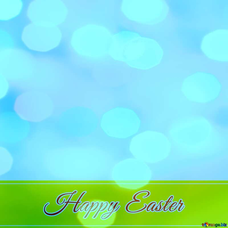 Happy Easter card write text background     №49668