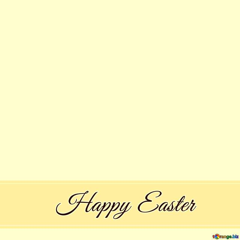 Retro card Inscription Happy Easter   №49668