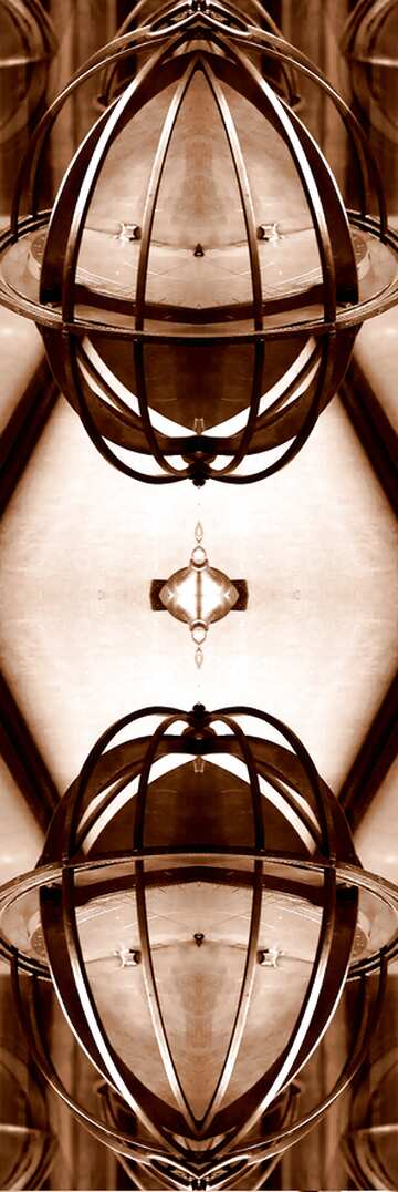 The effect of light. The effect of sepia toned. Fragment. Frame Pattern.