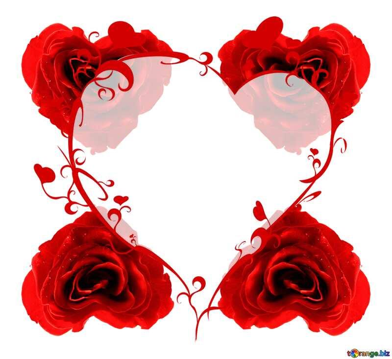 Heart frame №17029