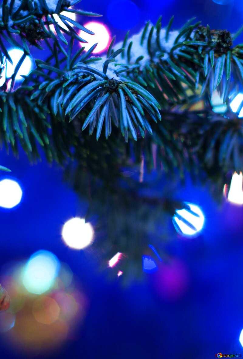 Helle Farben. Weihnachtsbaum. №15316