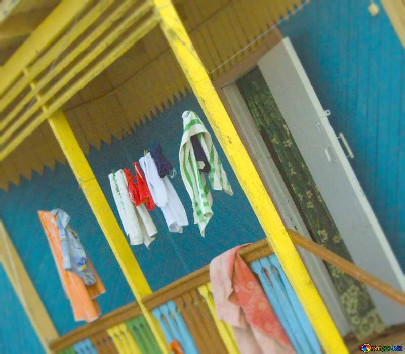 Image for profile picture Clothes drying on rope. №13060
