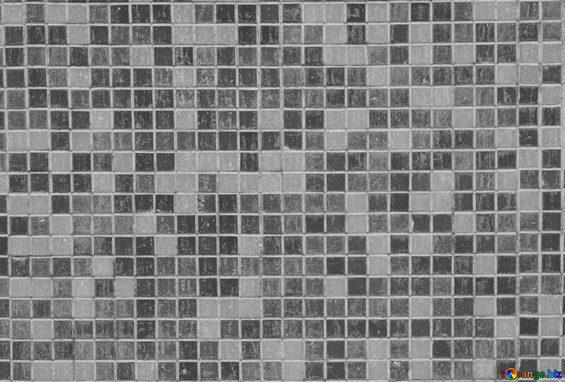 Monochrome. Texture.Mosaic tiles.. №12763