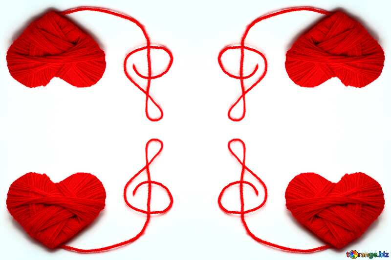 Texture. Love for music. №16421