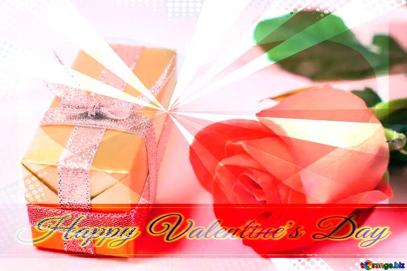 Gift  wife  Greeting card retro style background Lettering Happy Valentine`s Day №7207