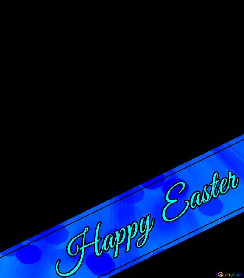 Happy Easter pink lettering №49668