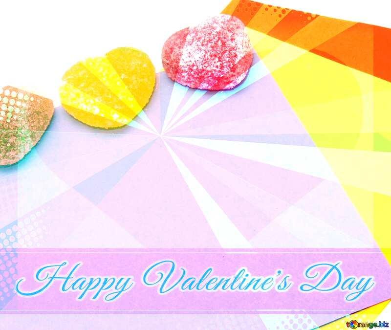 Stories about Love Greeting card retro style background Lettering Happy Valentine`s Day №18483