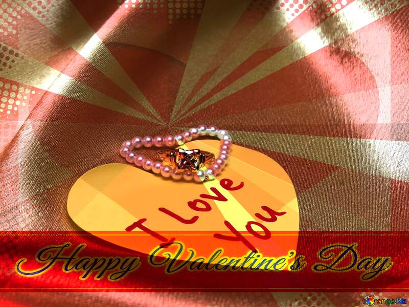 Wedding gift Greeting card retro style background Lettering Happy Valentine`s Day №18212