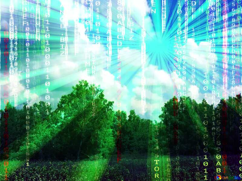 Digital nature №26725