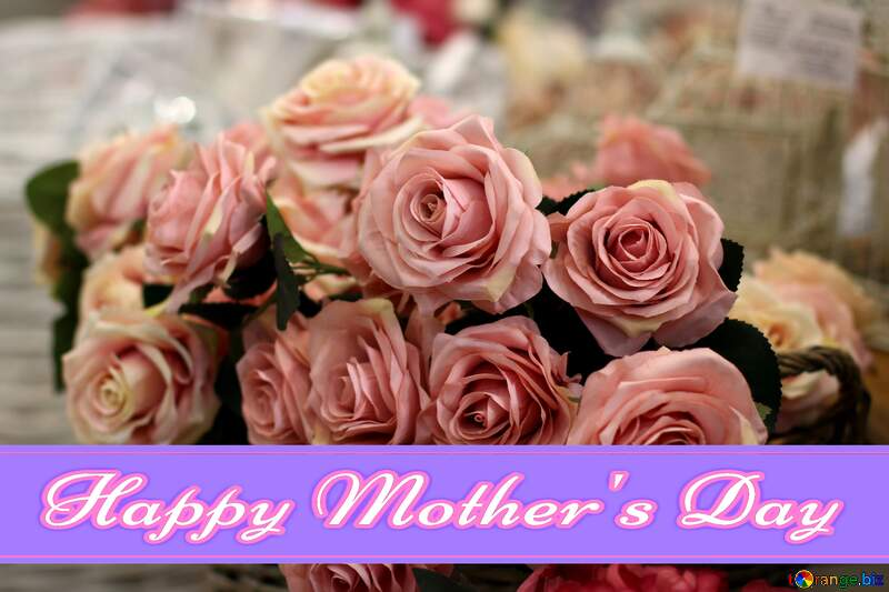 Flower trade Pretty Lettering Happy Mothers Day №47121