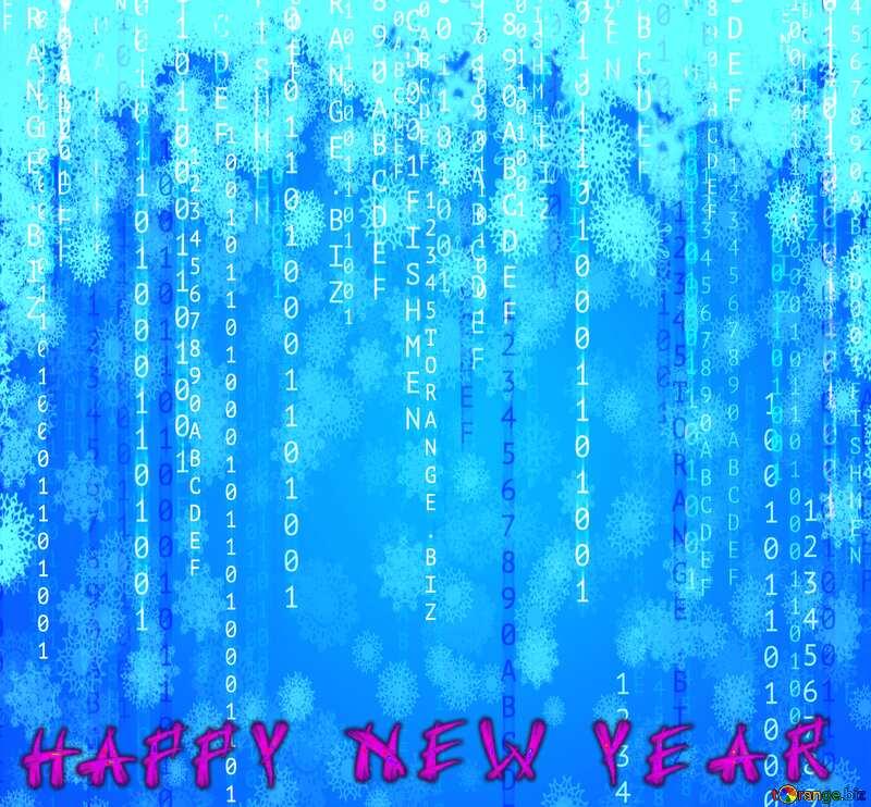 Digital Happy New Years Card №49671