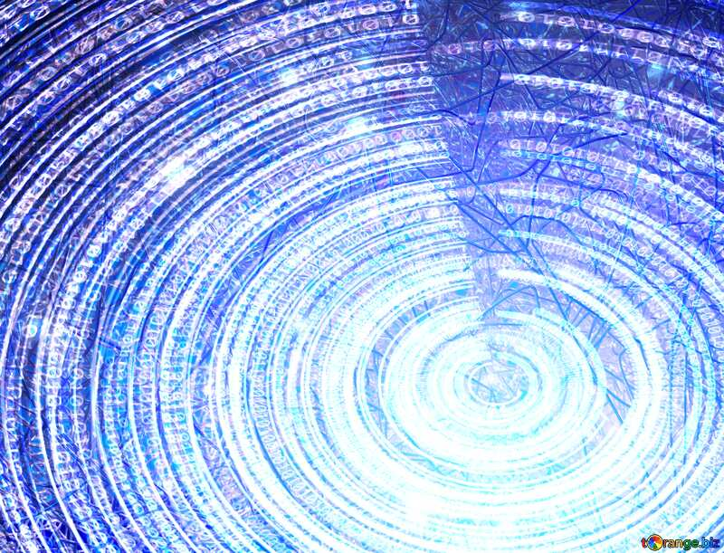 Electronics Digital Data Futuristic background №49672
