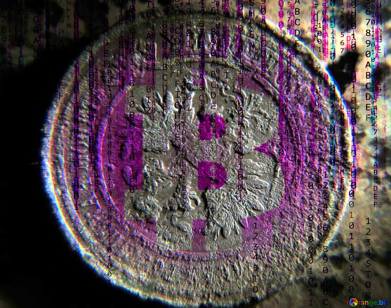 Former Russian coin  Crypts money №29421