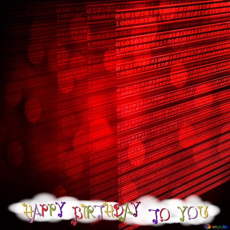 Happy birthday card for programmer  №49673