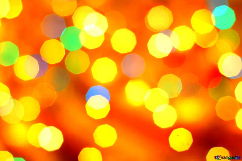 Bright Shiny bokeh Colorful Background №24618