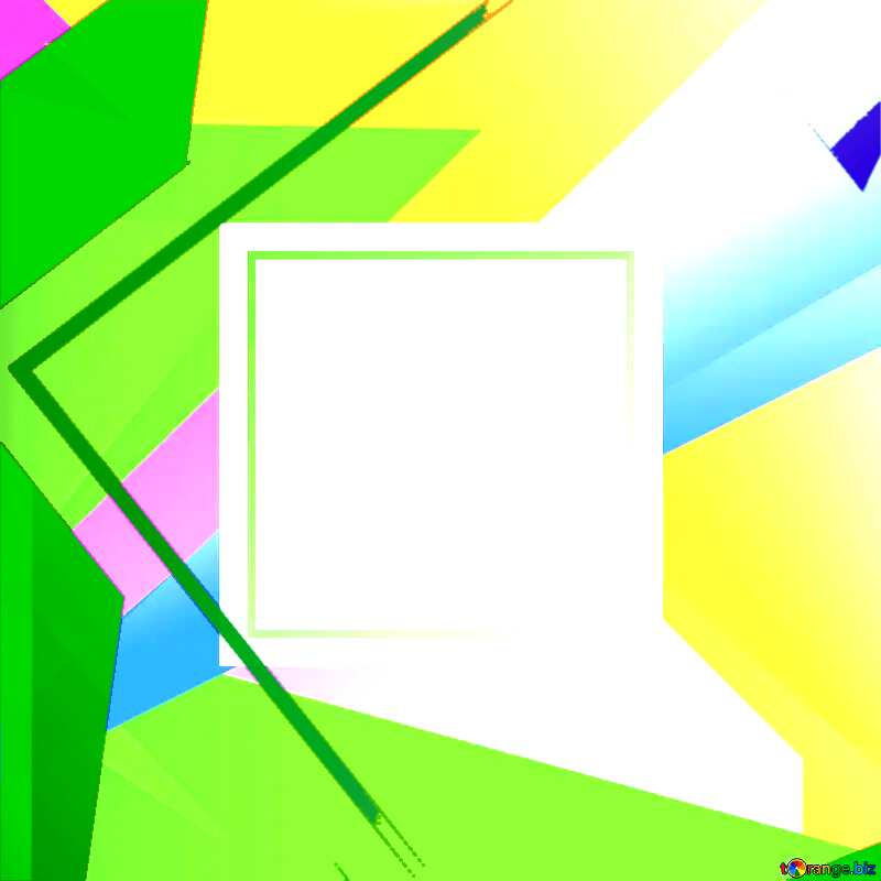 Colorful illustration template frame Colorful illustration template tilted frame №49675