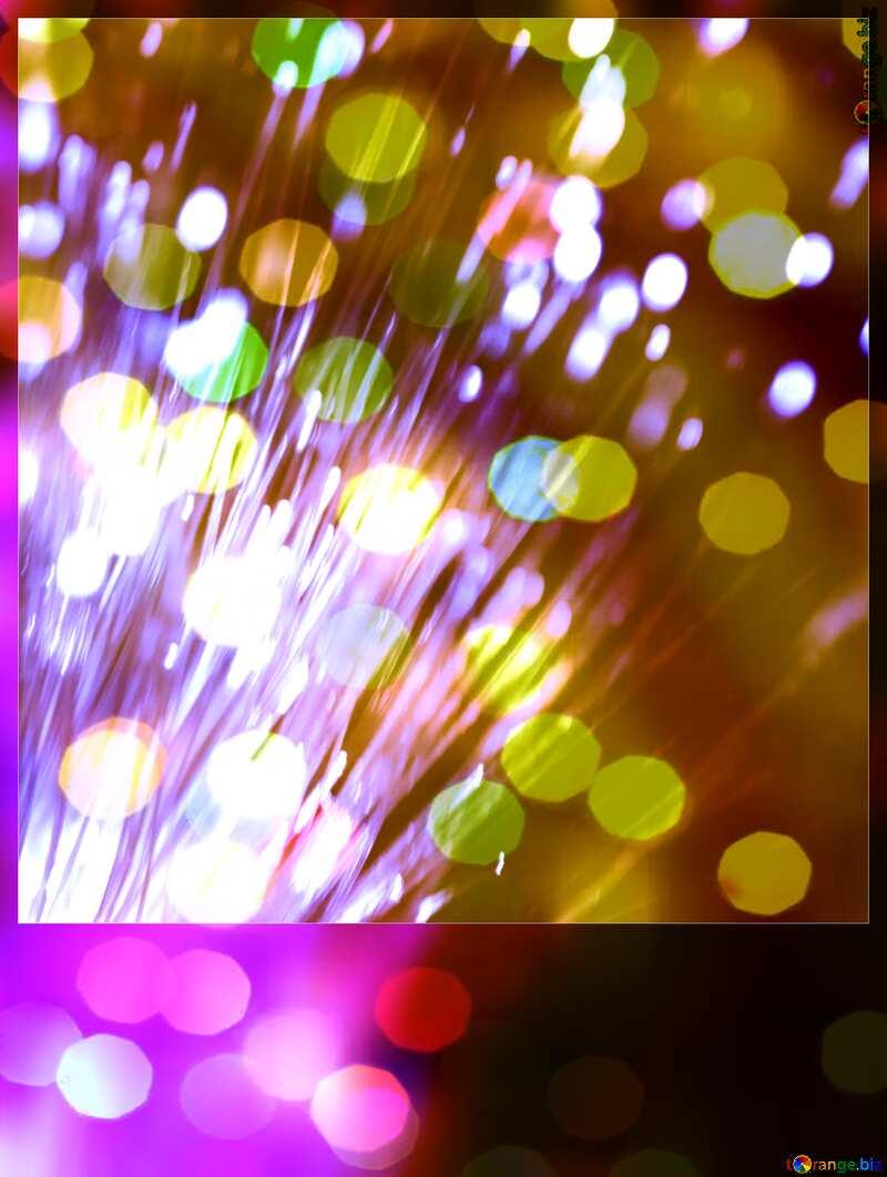 Optical fiber  card №41330