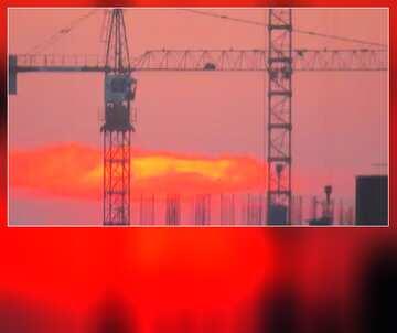 The effect of contrast. Vivid Colors. Blur dark frame. Fragment.