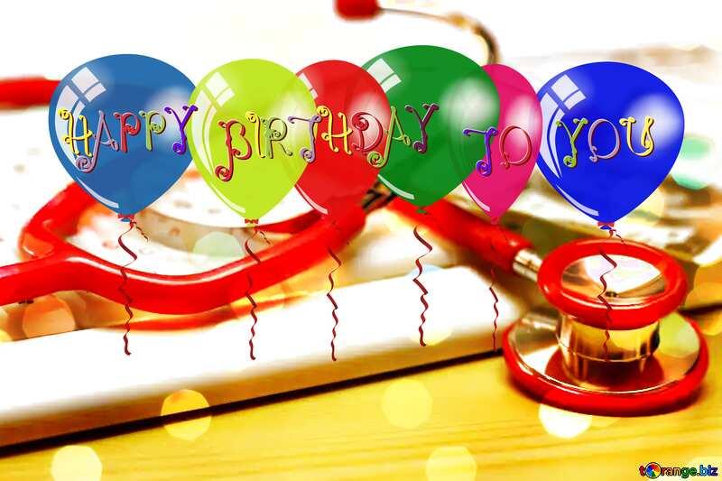 Doctors Happy Birthday card №19736