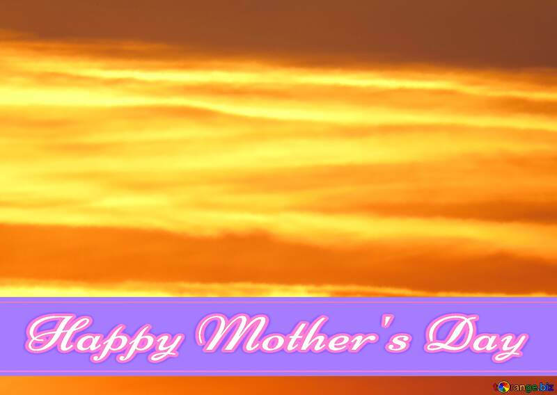 Greeting card Happy Mother`s Day Background №31611
