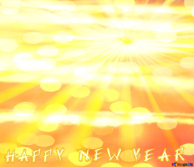 Greeting card Happy New Year Background №31611