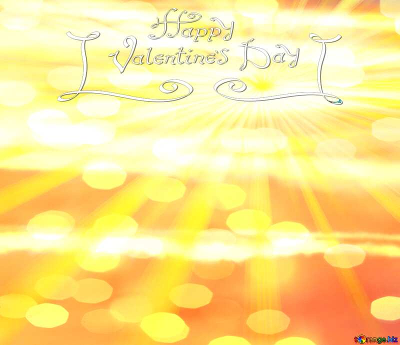 Greeting card Happy Valentine`s Day Background №31611