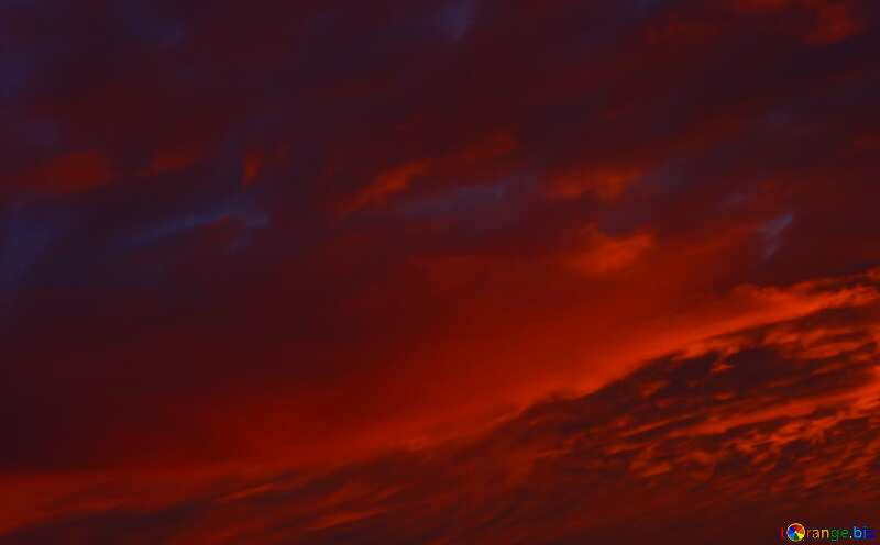 Red sunset Colorful Background №44627