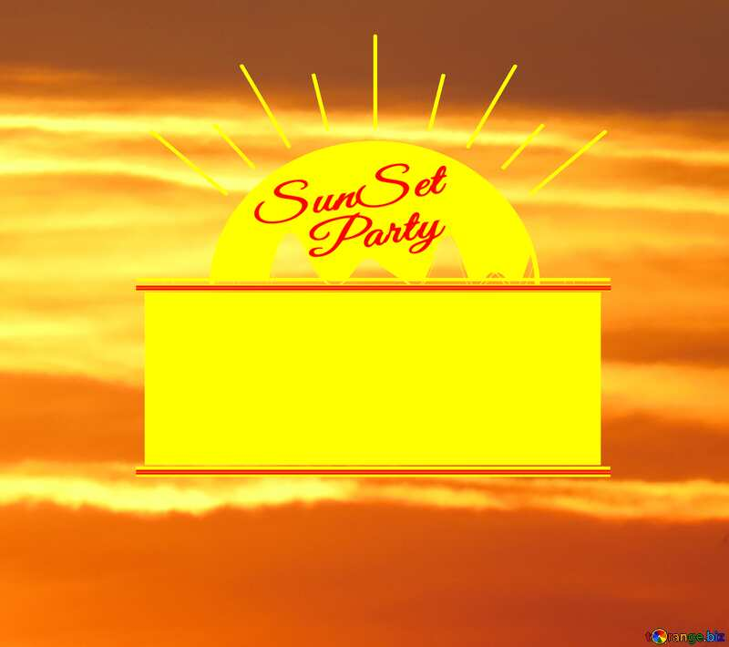 The Scarlet Sunset Party card №31611