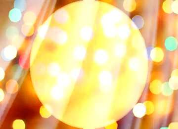 El efecto de la luz. Colores vivos. Fragmento.