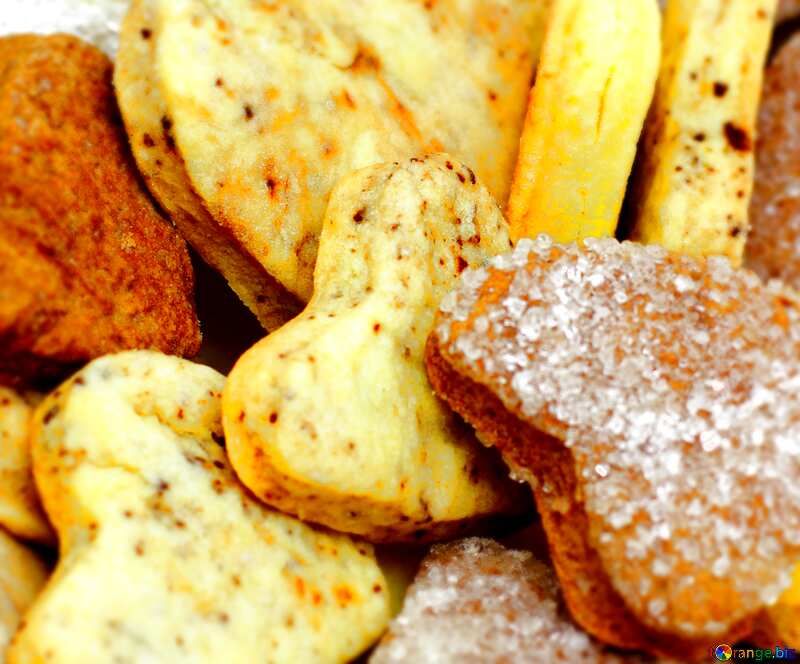 Cookies heart illustration №16650
