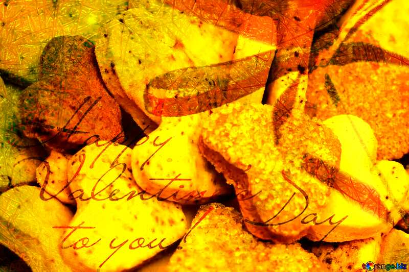 Cookies for Valentine`s Day Greeting Card №16650