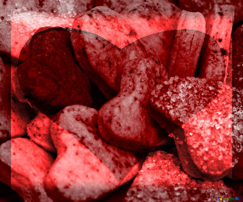 Cookies for Valentine`s Day Love Heart №16650