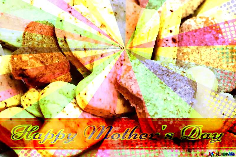 Cookies for Valentine`s Day Retro Style Card №16650