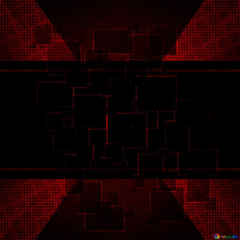 Dark red  techno abstract grid cell illustration background №49678