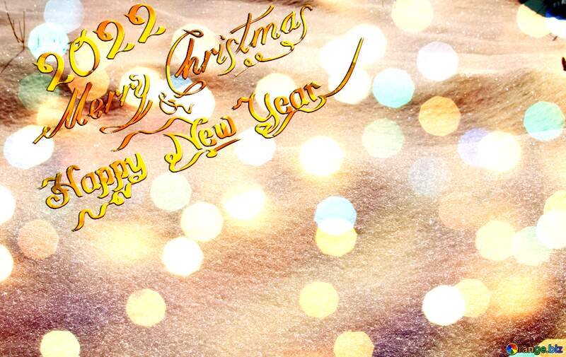 Snow  Background Card New Year 2021 Merry Christmas №833