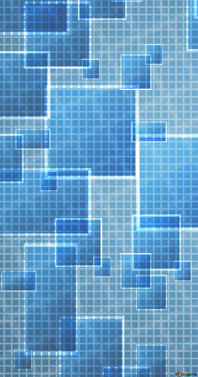 Technology banner background tech abstract squares of the grid cell line ruler texture techno modern computer pattern     №49678