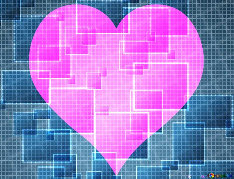 Technology love background tech abstract squares of the grid cell line ruler texture techno modern computer pattern     №49678