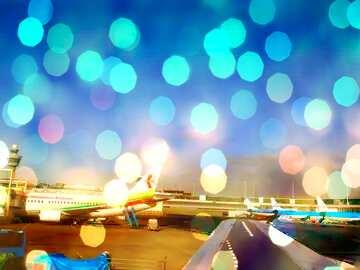 Die Wirkung von viel Licht. Sehr klare Farben.