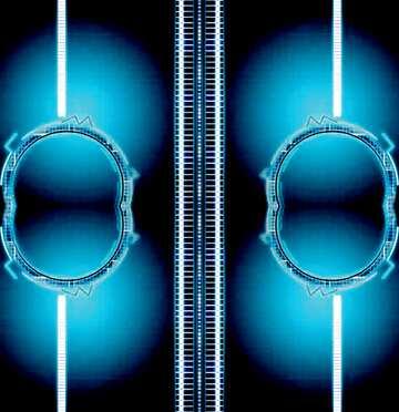L'effetto della luce. Frammento. Modello.