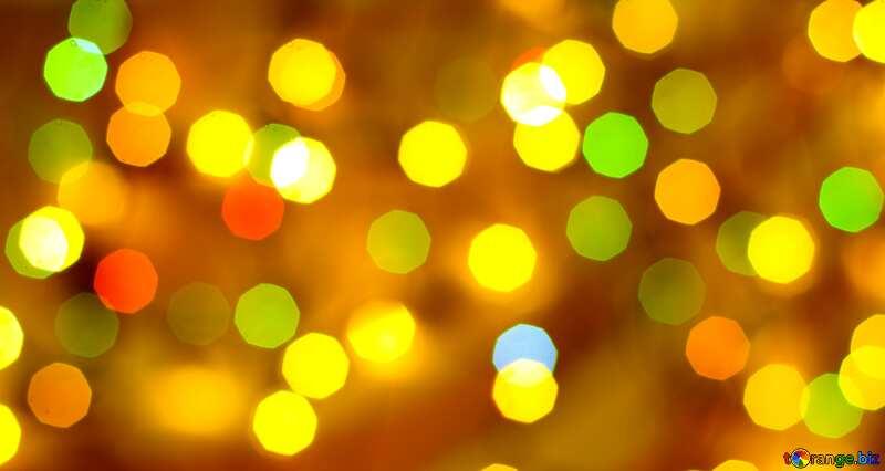 Bokeh blurred lights №24617